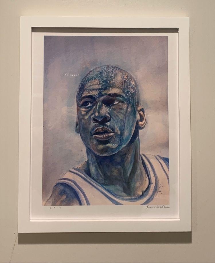 MJ framed prints sale! $75 + sh - artbyfrenchy | ello