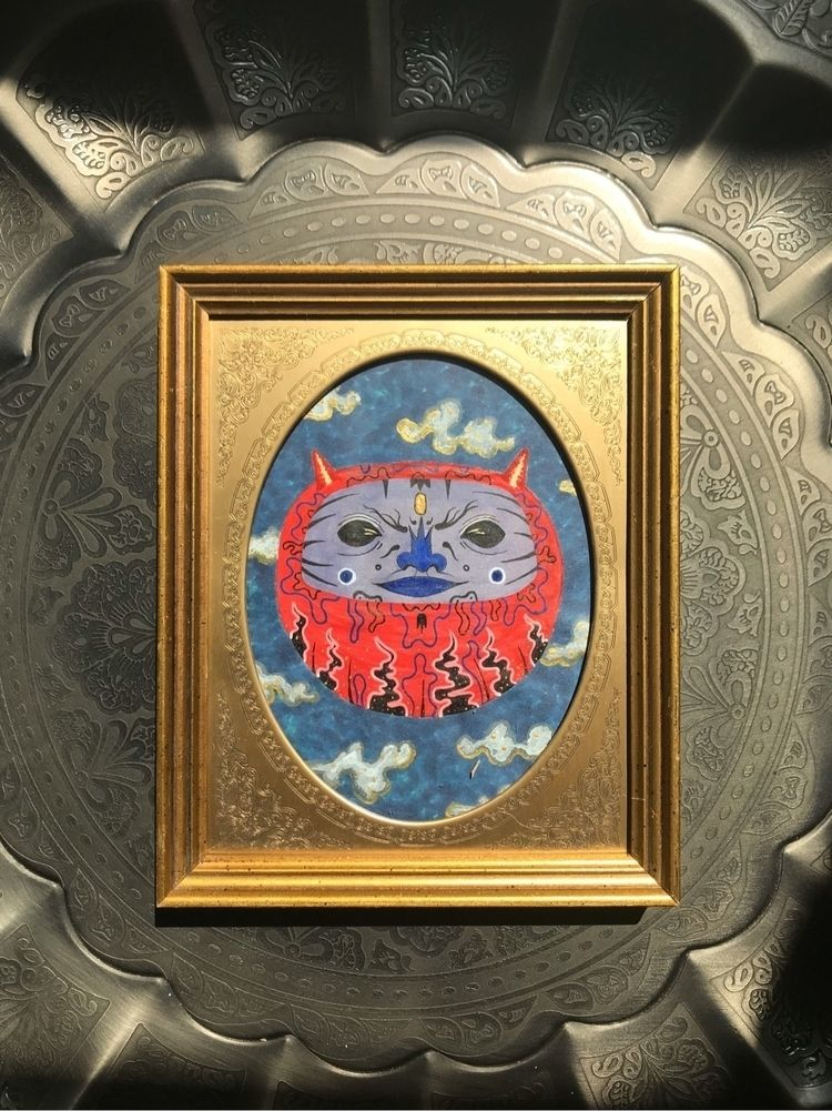 frame goodwill 🤯🤯🤯🤯🤯🤯 - art, illustration - boontucket | ello
