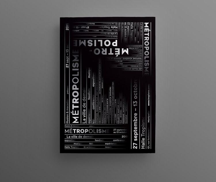 Poster Metropolisme — Julien Co - juliencourtial | ello