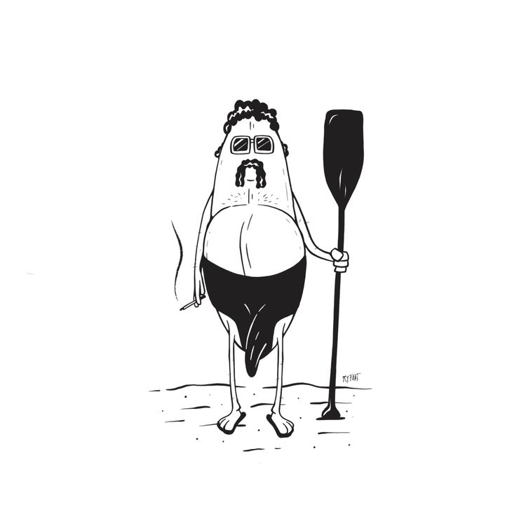 Meet Big Roger - Surf, Paddleboard - ryfoat | ello