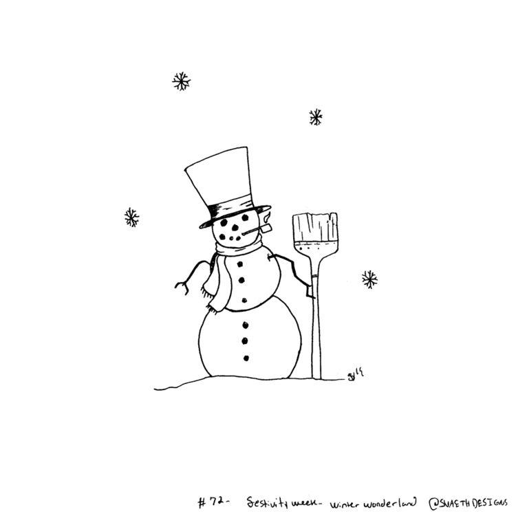 Sketch Daily - 72 Festivity Wee - svaeth | ello