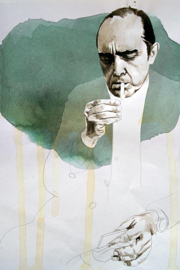 Oscar Niemeyer Ink paper, 2019 - daviddiehl | ello