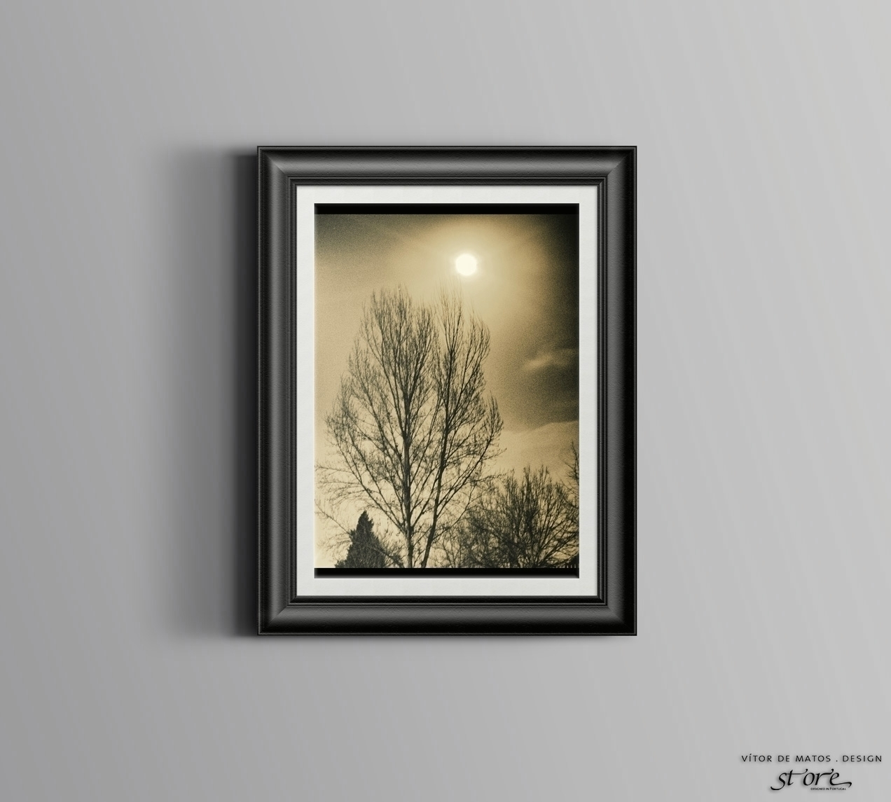 Lua Cheia Full Moon A3 Poster A3 Photographic Poster Print | Printed in gloss couché 135g ❜ by Vítor de Matos