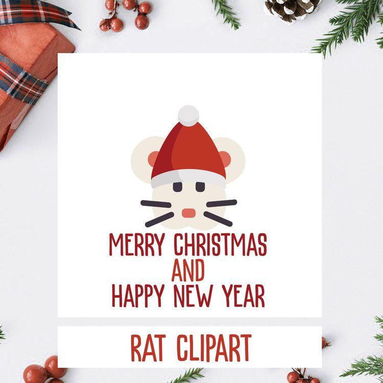 CHRISTMAS RAT DESIGN - christmas - annijajansone | ello
