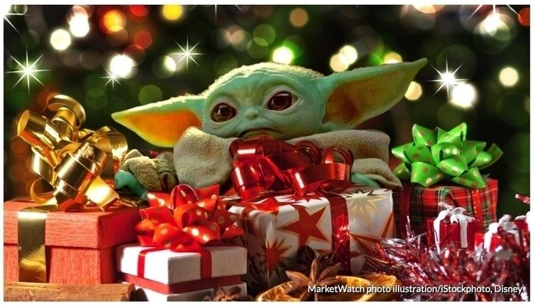 tree year toy find. Baby Yoda.  - ccruzme | ello