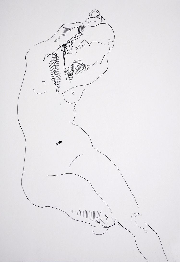 nude, livedrawing, quicksketch - leacmi | ello