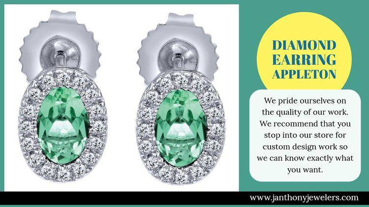 Diamond Earring Appleton engage - jewelrystoreappleton | ello