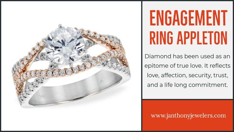 Engagement Ring Appleton engage - jewelrystoreappleton | ello