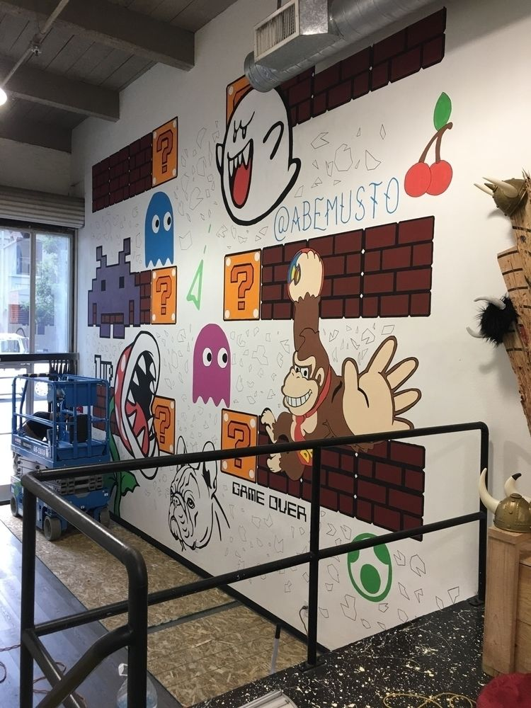 Wall downtown San Diego - abemusto | ello