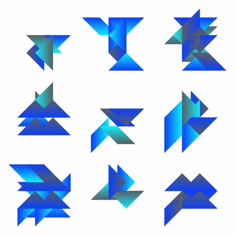 Geometric Shapes / 191228 - sasj | ello