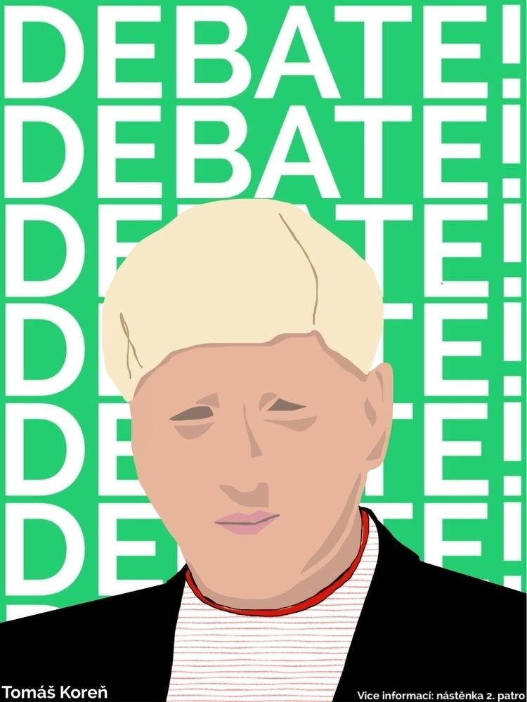 DEBATE - debate, poster, politics - krtsjb | ello
