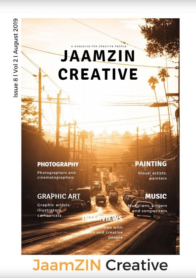 JaamZIN Creative magazine Aug 2 - jaamzin | ello