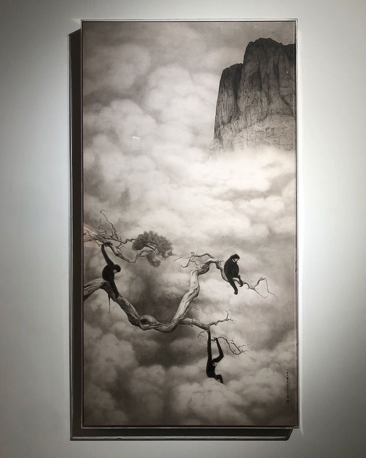 ART SALON QIN AI Ora-Ora please - modern_art_world | ello