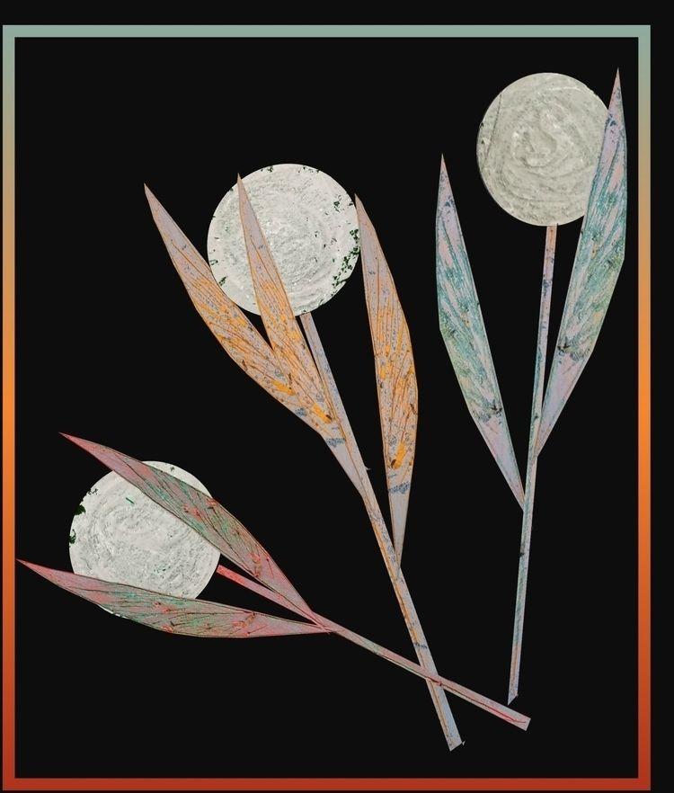 Flowers variations - art, digital - vahupe | ello
