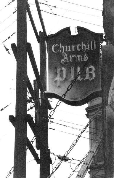 Churchill Arms (written 2013 20 - kreddibletrout | ello