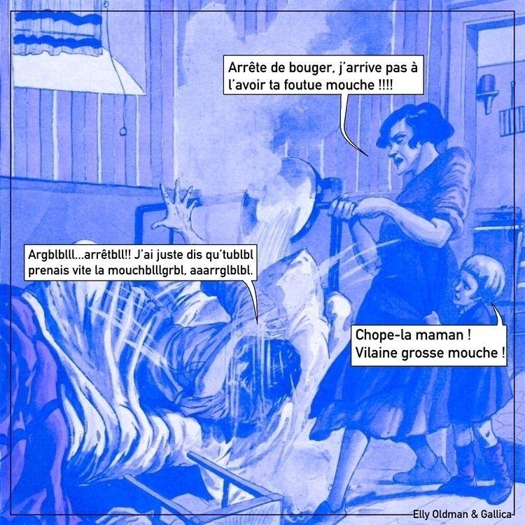 vintage, gallica, meme, humour - ellyoldman | ello