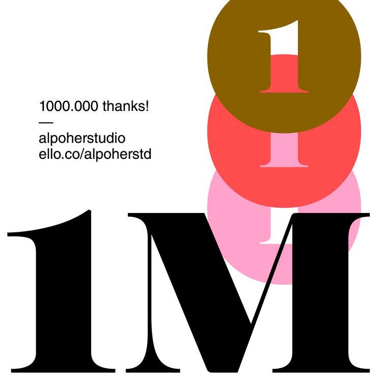 million views!! lets 2M - alpoherstd | ello