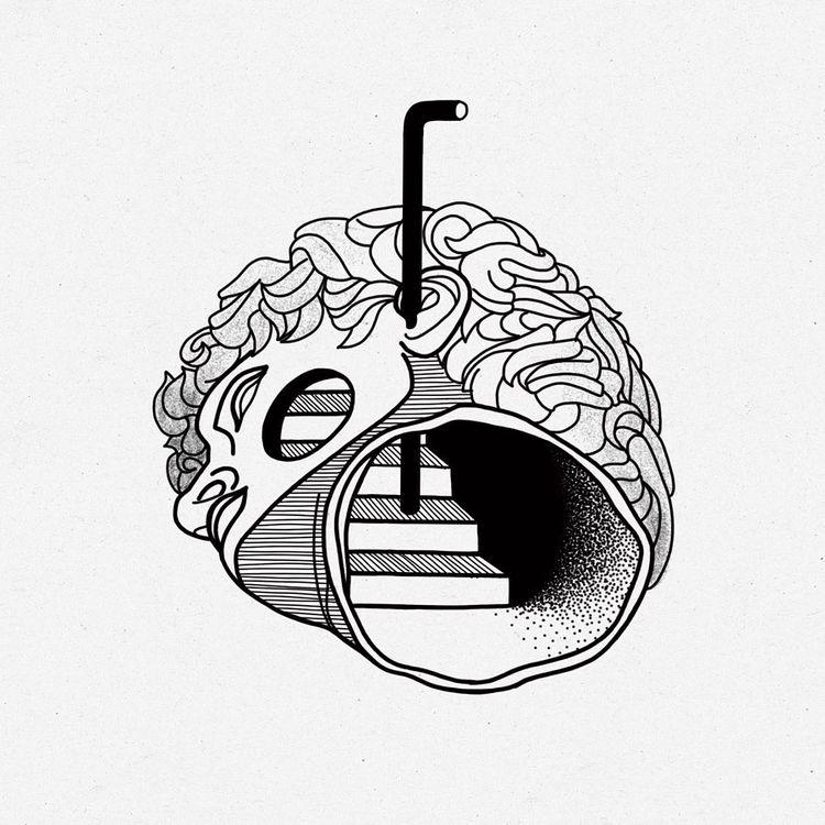 Architecture head  - headtattoo - modulschwarz | ello