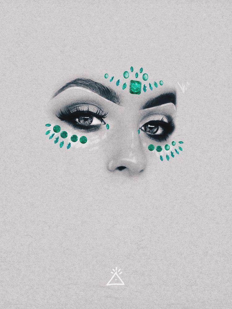 Emerald - art, emerald, eyes - mike_lroy | ello