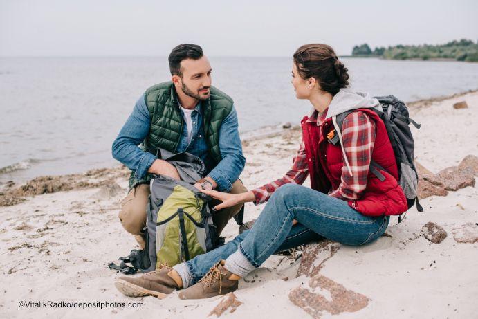 Fastenwandern der Ostsee kann a - ostseemagazin | ello