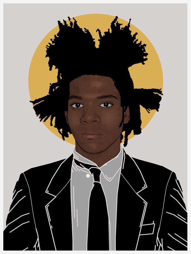 Basquiat | Mixed Media 2020 mix - hannahemmett1 | ello