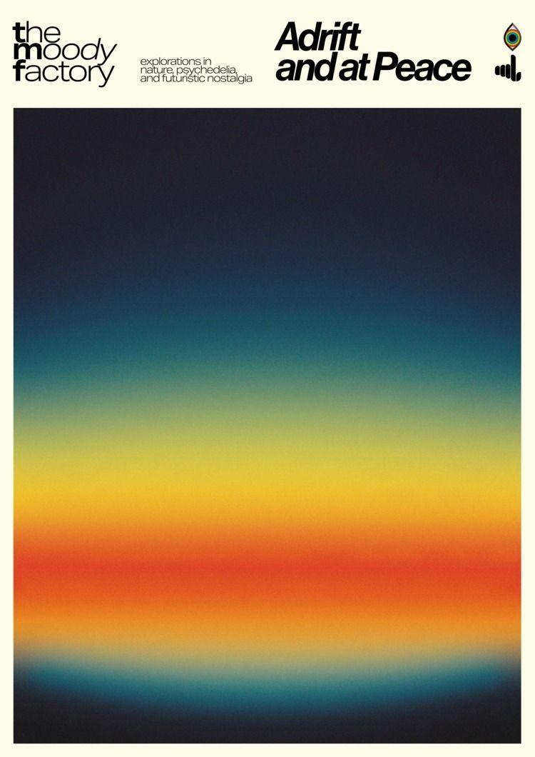 Adrift Peace  - poster, posterdesign - madleif | ello