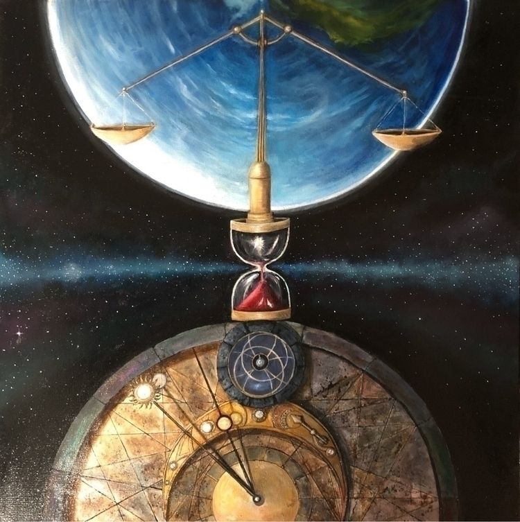 """tempus, immortalem infinitus - oilpaintings - artistfachekki 