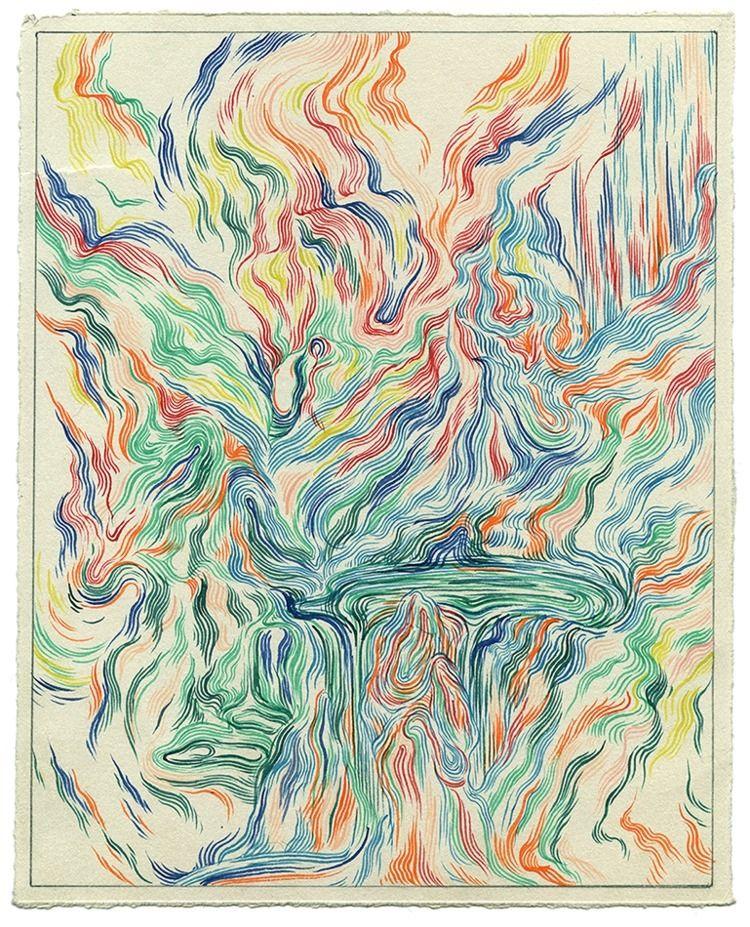 Rip VIII Watercolor paper, 8x10 - jacobvanloon | ello