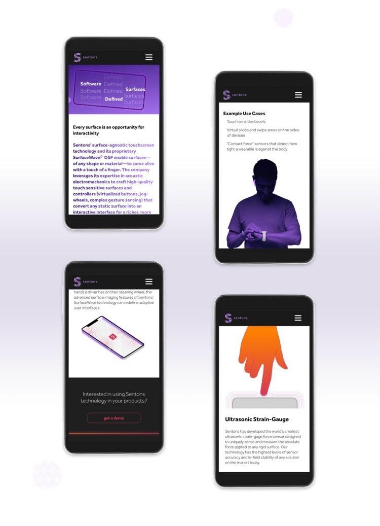 Mobile Screens - Web design Sen - mrkylemueller   ello