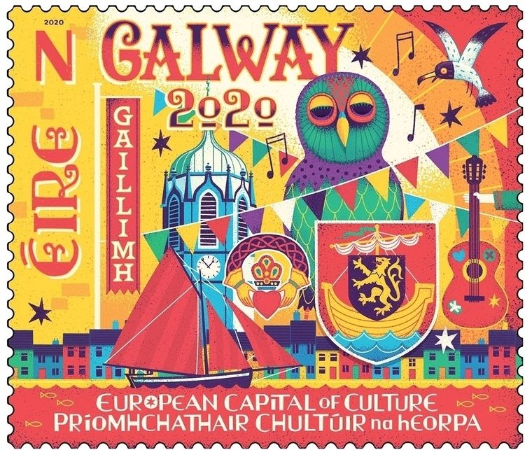 Honoured designed Irish Galway2 - stevesimpson   ello