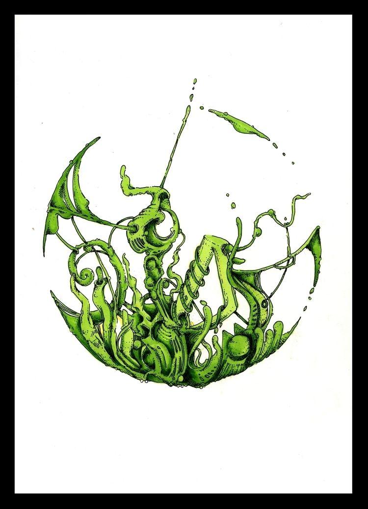 160120 - Markers Ink - penandinkdrawing - djerovski | ello
