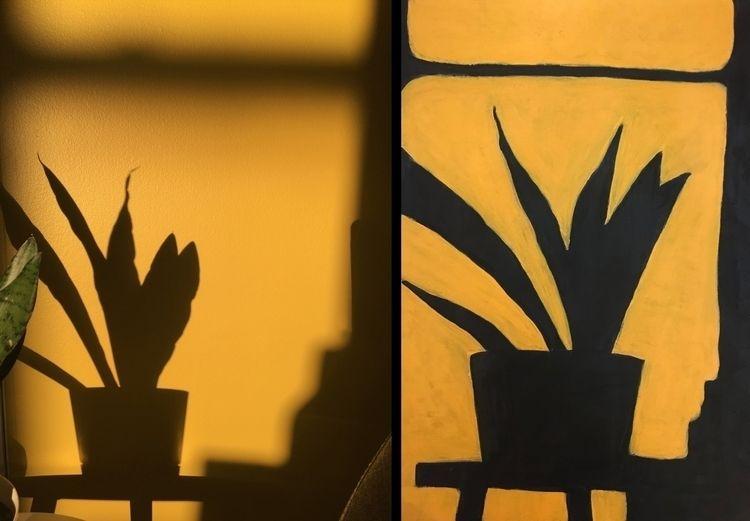 Shadows - photography, painting - halehj | ello
