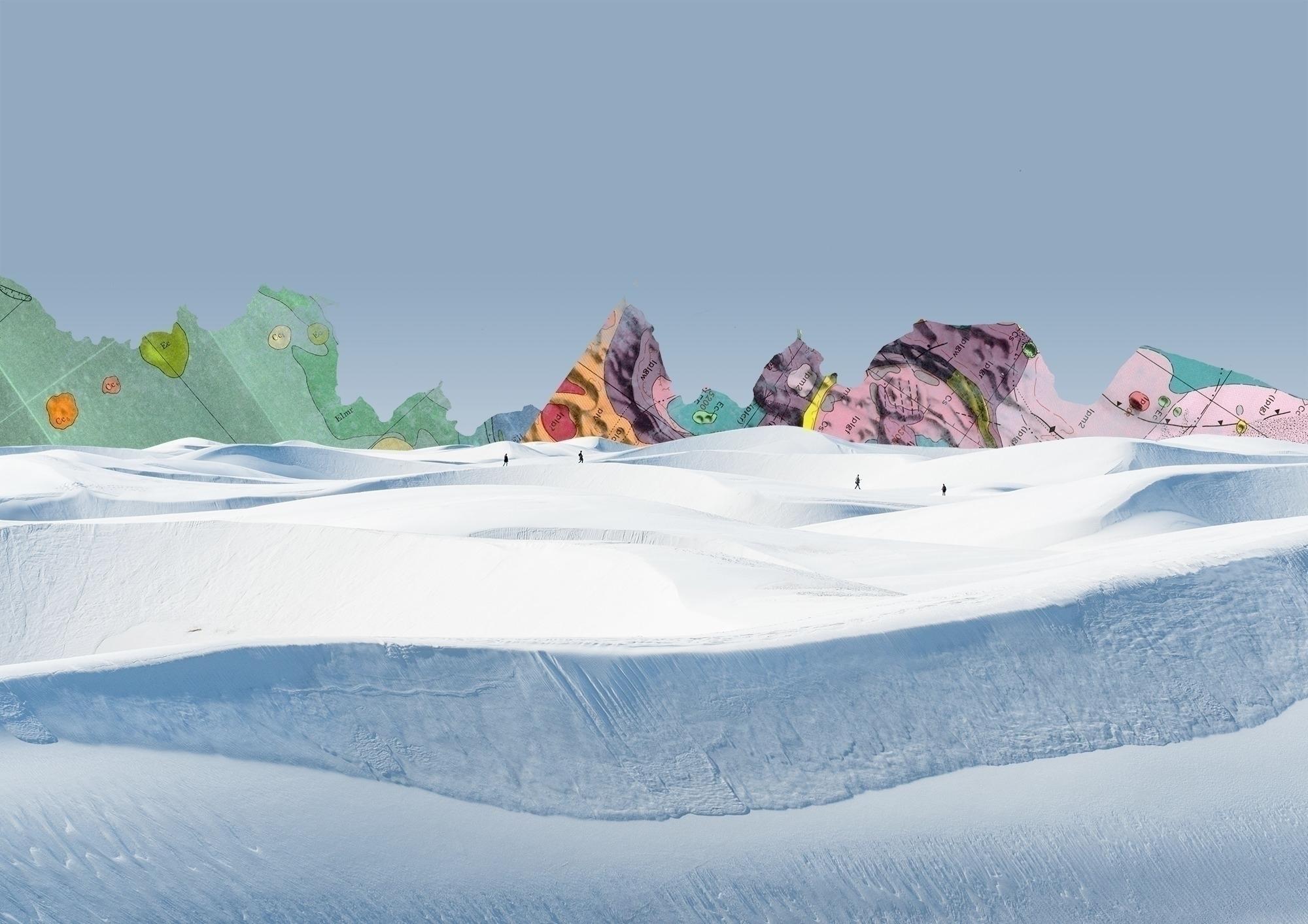 Landscapes (A3 format - azerty | ello