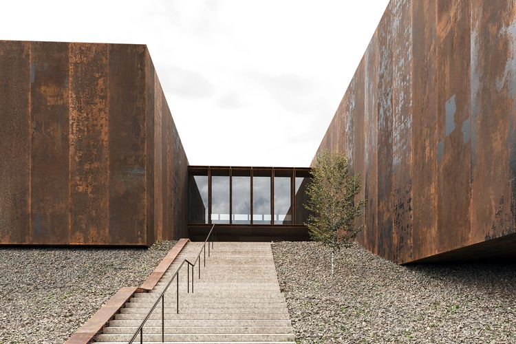 Soulages Museum - architecture, museum - paulearly | ello
