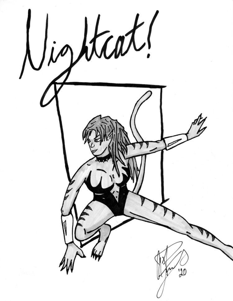 commissioned draw Nightcat crea - apfuchs   ello