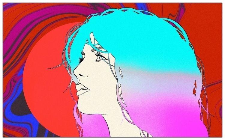 Trance Mind IG - art, trance, colors - mattadesigns | ello