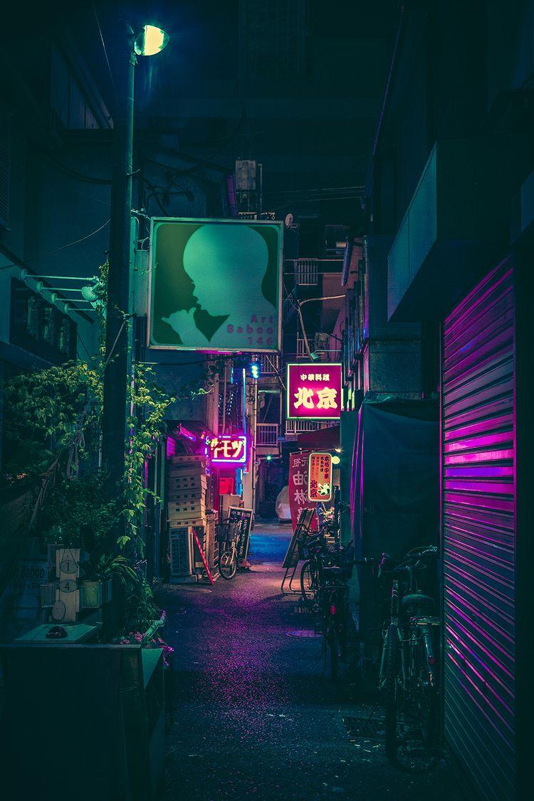 Night Stroll IV, 2019, Tokyo Ja - anthonypresley | ello