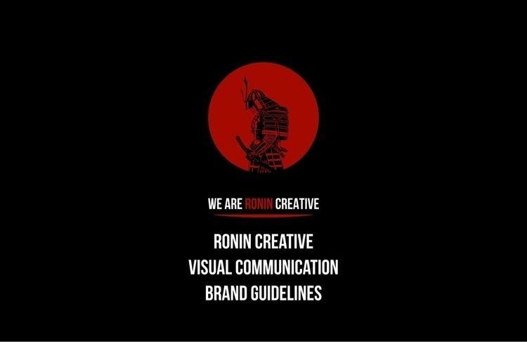 RONIN CREATIVE BRAND STYLE GUID - weareronincreative | ello