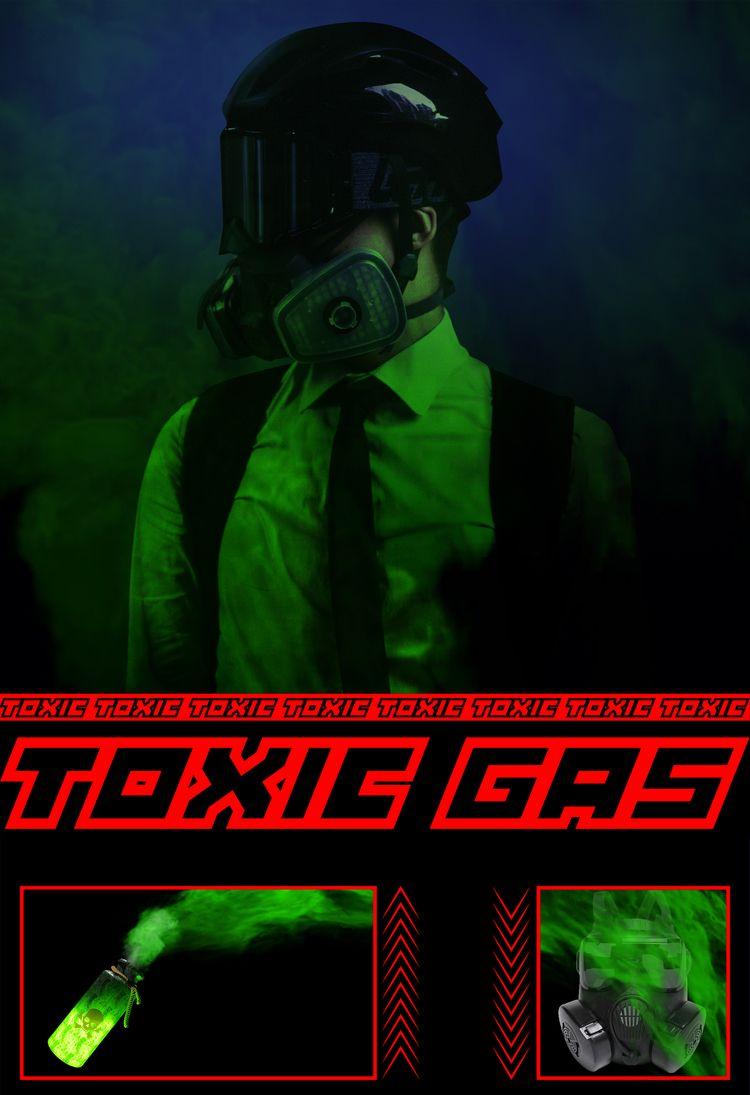 TOXIC GAS - sebastienkuzmanov | ello