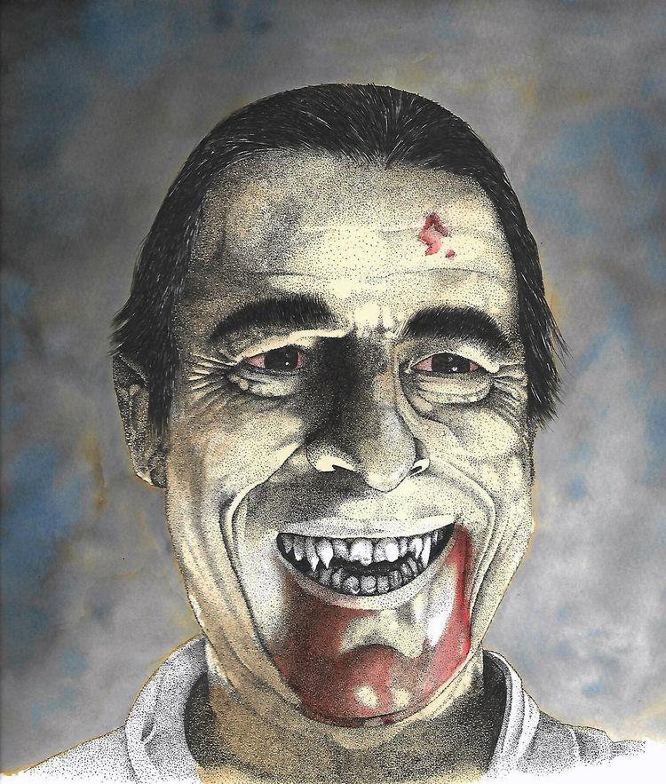 Portrait Netflix Claes bang - dracula - juliusllopis | ello