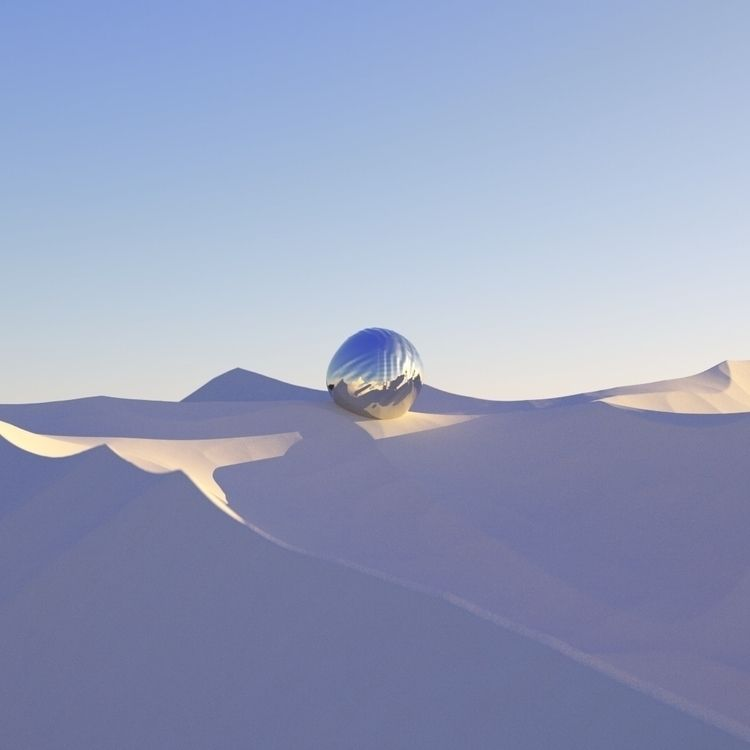 desert study follow stuff - 3d, texture - bfaiotto   ello