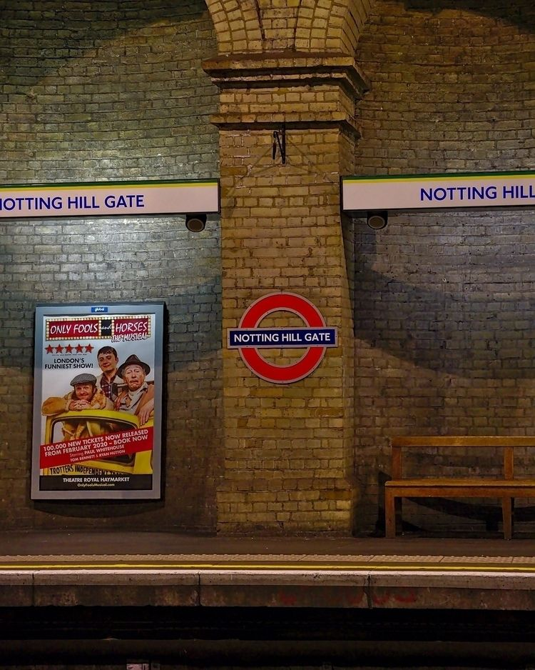 Notting Hill tube station - london - joaot | ello