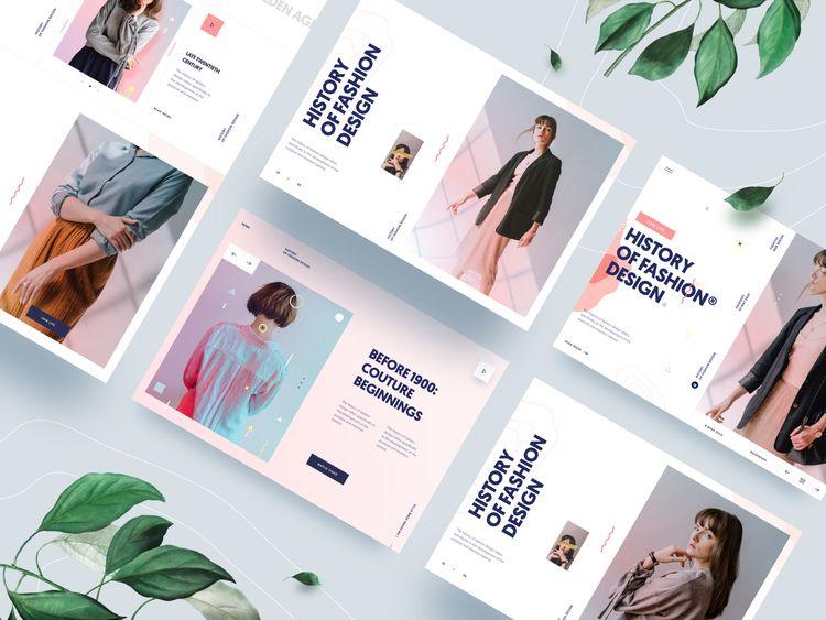 friends, showing UI Design page - tranmautritam | ello