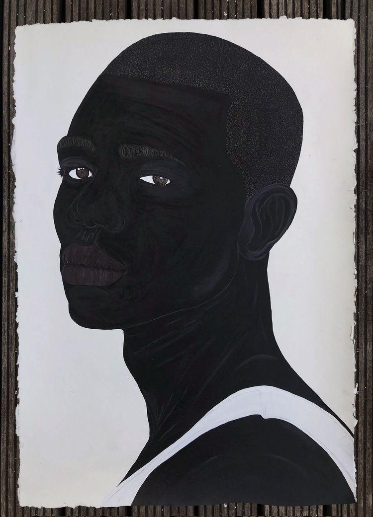 Idris Habib Alvarez, 2019 Acryl - blackartmatters | ello
