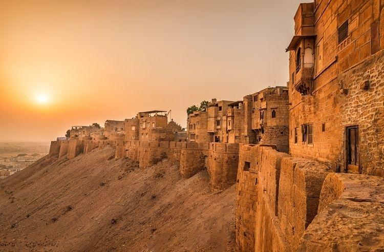 Jaisalmer Fort- Standing high G - davecurry8 | ello