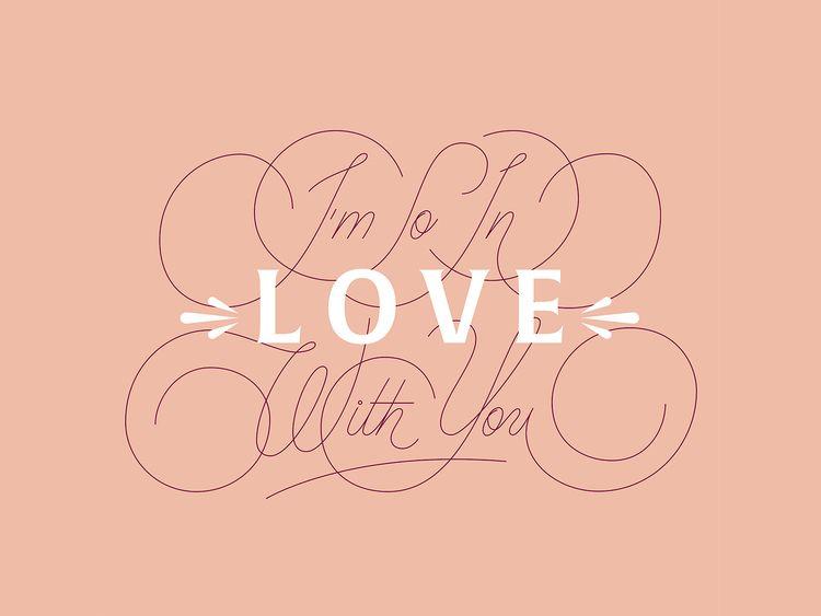 love – Personal shot day 2020 - lettering - rebeca__anaya   ello