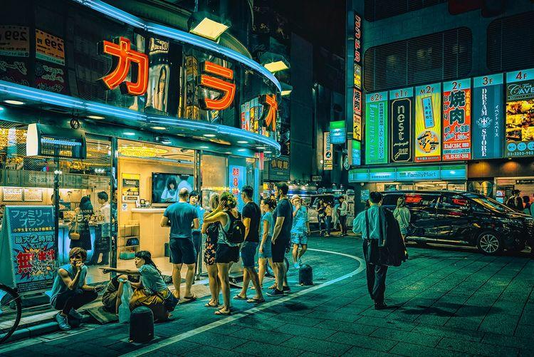 Night 2019, Tokyo Japan. photo  - anthonypresley   ello