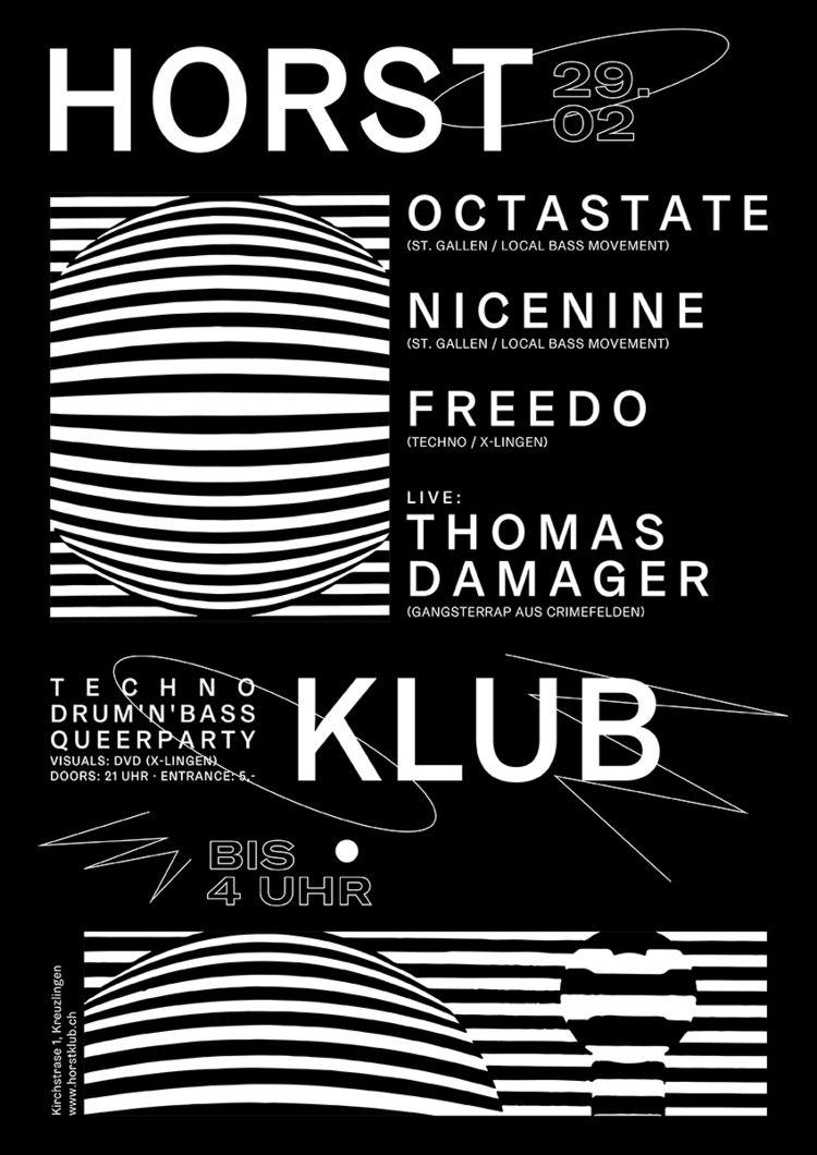 Techno night Horstklub! gonna w - jeromebizien   ello