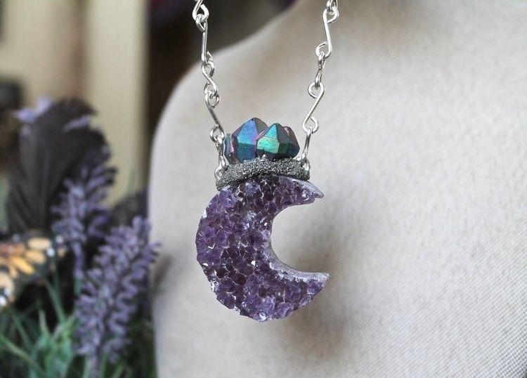 Amethyst moon - moonmagick, crystals - gypsyhawaii | ello