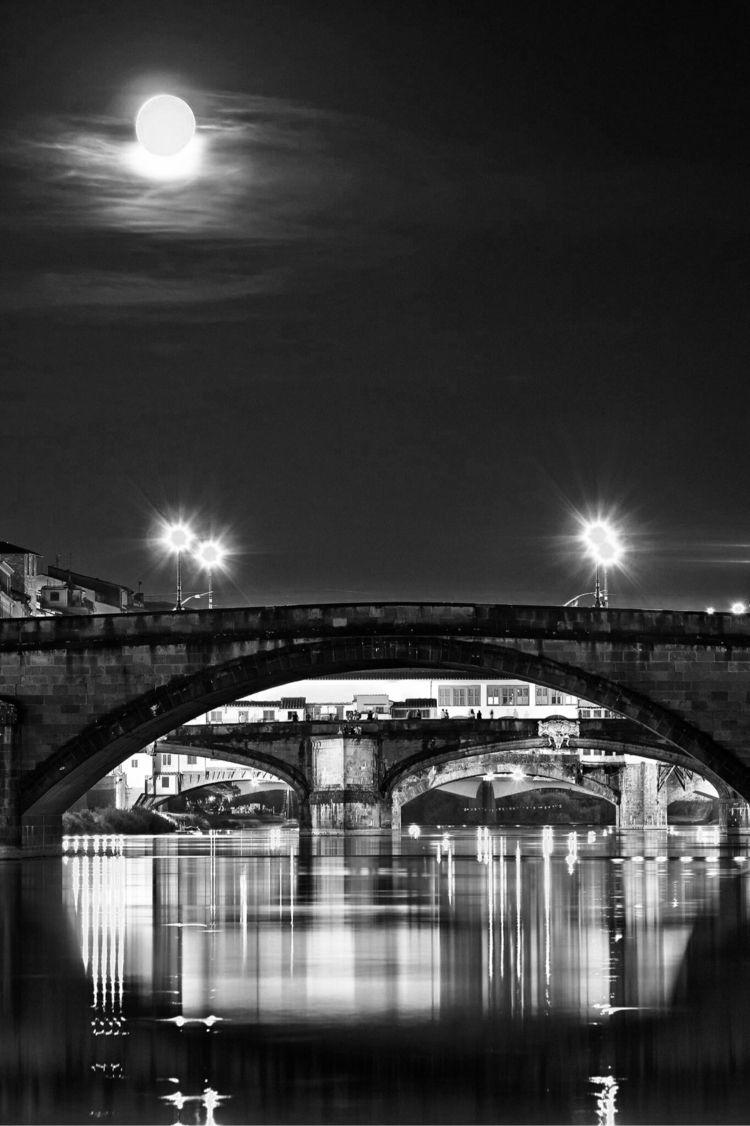 Arches Ponte alla Carraia, Flor - momiroh   ello